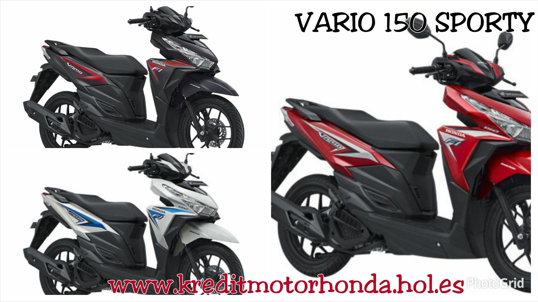Gambar Sepeda Motor Vario 150 Cc Terbaru Dan Terkeren Gentong